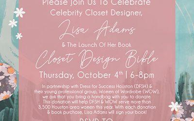 Closet Design Bible Event in Houston Texas October 4, 2018